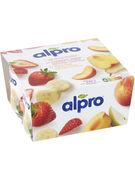 ALPRO YOGH.FRAISE-BAN.4X125G