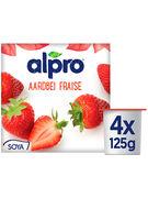 ALPRO YOGH.FRAISE 4X125G