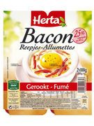HERTA ALL.BACON FUMES 2X100G