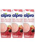 ALPRO DRINK FRUITS ROUGES 25CL 3-PACK (OV 8)