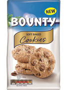 BOUNTY SOFT BAKED COOKIES 180GR