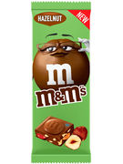M&M S TABLET HAZELNUT 165GR