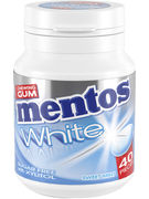 MENTOS bottle GUM WHITE SWEET MINT 40P 60G
