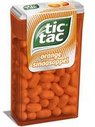 TIC TAC T100 ORANGE 16p