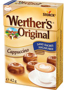 WERTHERS MINIS S/S CAPPUCCINO FLIPTOP 42GR
