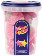SWEET PARTY CUP FRAISE SUCREE 180GR