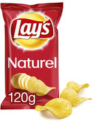LAY S CHIPS NATUREL 120G
