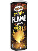 PRINGLES FLAME SPICY BBQ 160GR