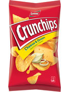 LORENZ CRUNCHIPS CHEESE & ONION 150G 20p