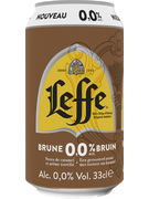 LEFFE BRUNE 0° CANS 33CL 6-PACK