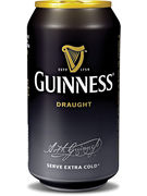 GUINNESS DRAUGHT 4,2° CANS 33CL 4P