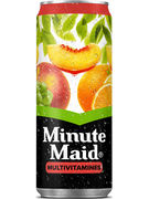 MINUTE MAID MULTIVITAMINES SLEEK CANS 33CL