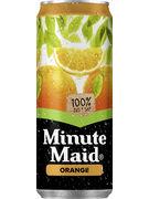 MINUTE MAID ORANGE SLEEK CANS 33CL (x24)