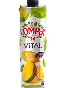 COMPAL VITAL MANGUE - ORANGE  TETRA 1L