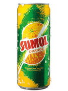 SUMOL ORANGE CANS 33CL 6P