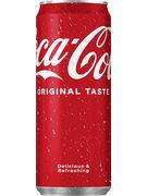 COCA COLA SLEEK CANS 33CL (x24)