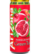 ARIZONA POMEGRANATE GREEN TEA CANS 33CL (x12)