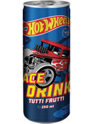 HOT WHEELS DRINK TUTTI FRUTTI 250ML