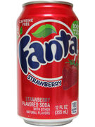 FANTA STRAWBERRY SODA 12OZ - 355ML