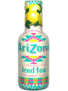 ARIZONA LEMON ICED TEA PET 50CL 6P