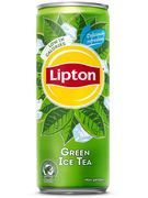 ICE TEA GREEN (SUGAR REDUCED) NP SLEEK CANS 33CL 8-PACK