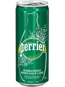 PERRIER SLIM CANS 33CL 6Pack