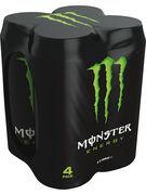 MONSTER 50cl ENERGY CANS 4pack (vert)