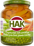 HAK 230G PETITS POIS EXTRA FINS & CAROTTES (ov12