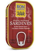 BON APPETIT SARDINE TOMATE 120GR