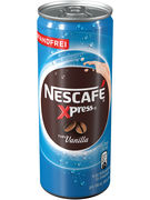 NESCAFE XPRESS cans VANILLA 250ML