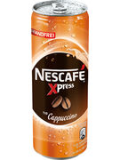 NESCAFE XPRESS cans CAPPUCCINO 250ML