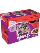 WHISKAS POUCH JUNIOR VOLAILLE 100G 12P
