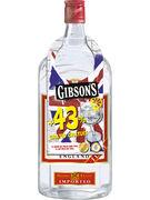 GIBSON S GIN 37,5° 70CL + 43% GRATIS