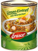 ERASCO 800g LINSENEINTOF MIT WURST
