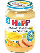 HIPP BIO 4mois MAIS & KARTOFFELPUERE & PUTE 190G