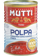MUTTI 400G TOMATES CONCASSES POLPA