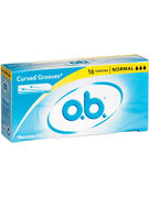 OB TAMPONS NORMAL 16p
