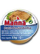 MANNA PATE DE SARDINE 4X22G 12P
